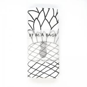 Pineapple cotton tote bag
