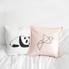 By Mia bags panda and origami cushion cover
